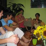 Tuesday's activity: Nicaraguan food tasting