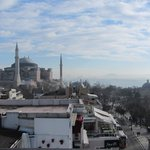 view from the terrace - Hagia Sofia