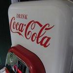 Old Coke machine at the Barnstead