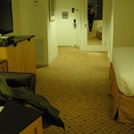 Deluxe Room -- very spacious and comfortable