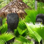These statues carved from coconut tree always puzzled me