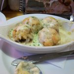 Crab stuffed mushrooms (I had eaten 2 before picture)