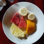 fruit with breakfast