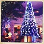 Новогодняя елка в отеле