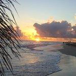 Sonnenaufgang in der Kariebik