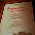 Shoesshine service