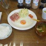 ある日の朝食2