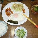 ある日の朝食1