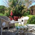 """terrasse commune de """"la villa elle"""""""