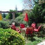 """terrasse commune de """"la villa elle""""2"""