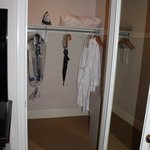 Plenty of closet space, room 717