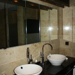 Bathroom Mirror with TV