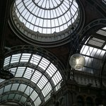 Victorian shopping arcade, Leeds