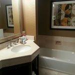 bathroom with tub view