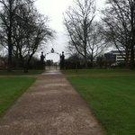 Eingang Schlosspark
