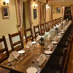 Restaurant table for group
