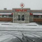 OK Diner in Winter
