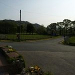 View from the pub along Eskdale to Boot.