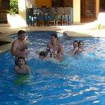 The pool at Villa Oasis