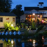 A night of music in the gardens