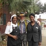 Myself with Chef Paulette and Denise who is a wealth of information on the fro