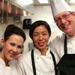 Chef David Omar and staff at Zinc