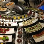 Sweets in buffet dinner