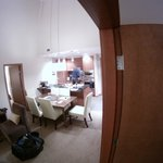 Image from one room looking into open dinning areas with view on 2nd BD.