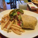 Crispy Chicken Ranch Wrap