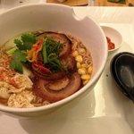 Ramen noodles with Pork Belly at Fenix
