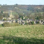 View of Ashover from on high