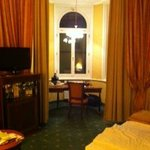 Our room, showing the alcove
