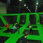 Ty Laws Launch Indoor Trampoline Park Foto