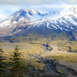 Mount St. Helens from Johnston Ridge Observatory