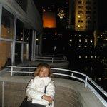 Che bello il balcone al 30° piano!