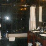 Bagno pulito e spazioso