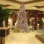 Hotel Christmas Tree