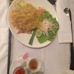 Very nice Pad Thai from room service