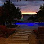 Lagoon Pool at  night