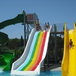 Watter slides