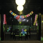 We are happy to make party celebrations for you in our restaurant