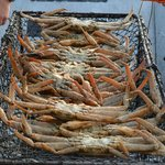 With a fishing licence you can put out a crab pot.