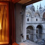 View of the Basilica di San Marco from the widow