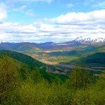Toutle River Valley on Spirit Lake Memorial Highway