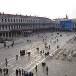 View of Piazza San Marco from the window