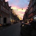 rua tranquila