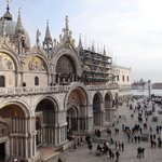 View of the Basilica, Doges Palace & San Giorgio in the distance