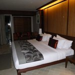 Our beautiful spacious room! King bed was awesome!