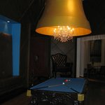 Lobby Pool table