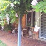 Our unit 3 verandah